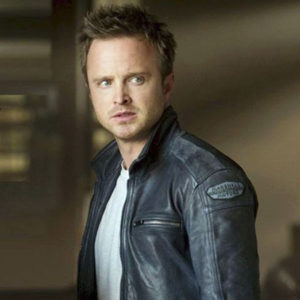 Aaron Paul With Need For Speed Movie Jacket