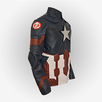 Side view Of Age Ultron Jacket
