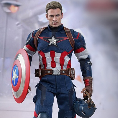 Marvel Avengers Age of Ultron Captain America Costume
