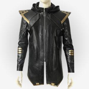 Hawkeye Leather Costume Jacket