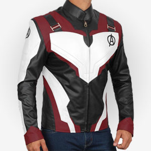 Marvel Comics Avengers Endgame Leather Jacket