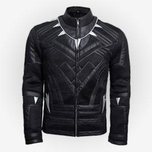 Marvel Black Panther Leather Jacket