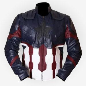 Captain America Infinity War Jacket For Men's