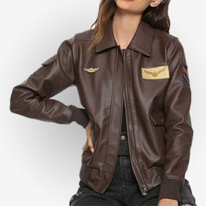 Captain Marvel Brown Costume Jacket