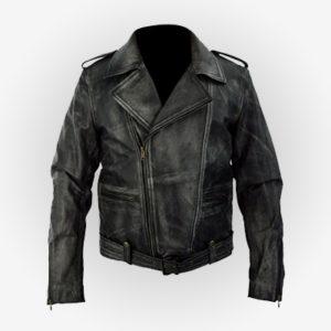 Captain Marvel Biker Jacket