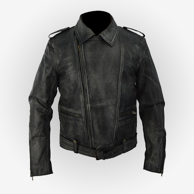 Black Biker Carol Danvers Jacket