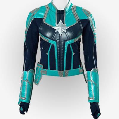 Captain Marvel Green Jacket