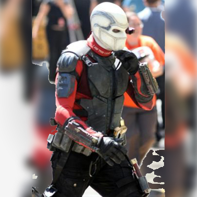 Dead Shot Will Smith Leather Jacket