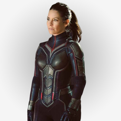 Leather Jacket worn by Evangeline Lilly