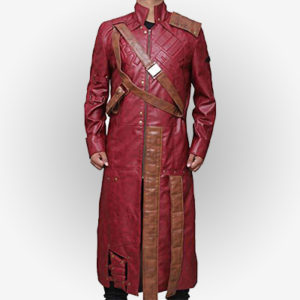 Star Lord Leather Coat