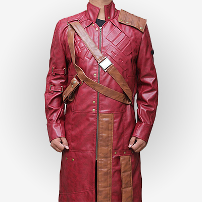 Mens Star Lord Trench Coat