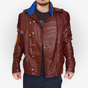 Leather Peter Quill Jacket