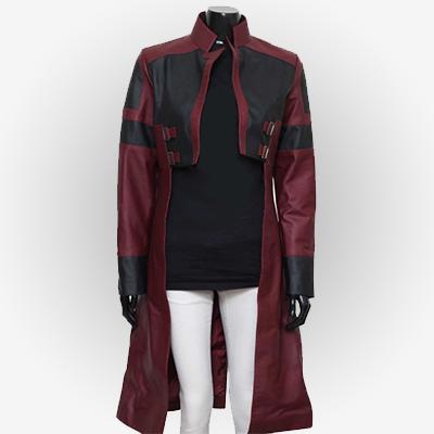 Aesthetic Zoe Saldana Gamora Trench Coat