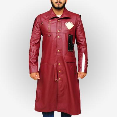 Yondu Real Leather Coat