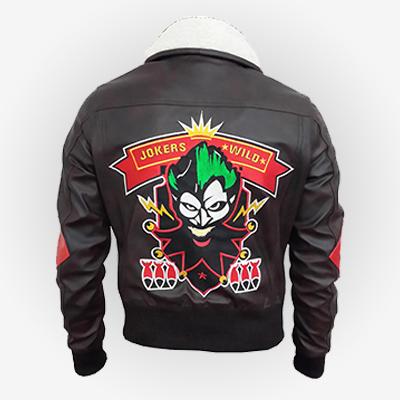 DC Comic Harley Quinn Brown Jacket