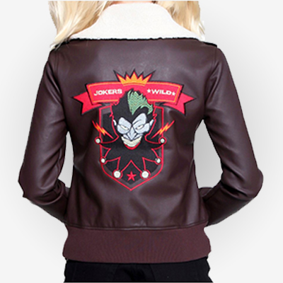 Women's Harley Quinn Bomber Jacket