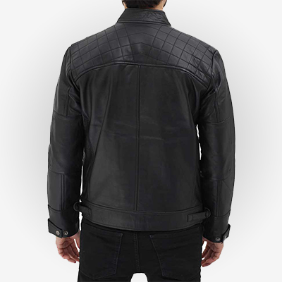 classy mens jacket in black