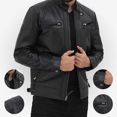 best black leather jacket for mens