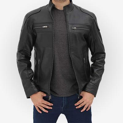 Voguish Biker Leather Jacket