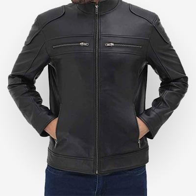 Padded Style Black Jacket