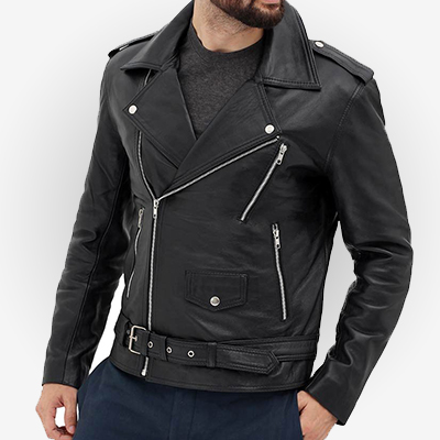 men's leather jacket for riders
