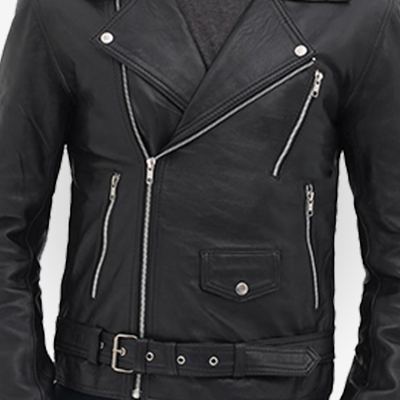 black outfit for bikers