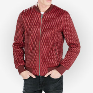 Best Red Bomber Jacket for Men