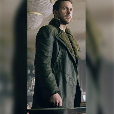 Blade Runner 2049 Leather Coat for Men