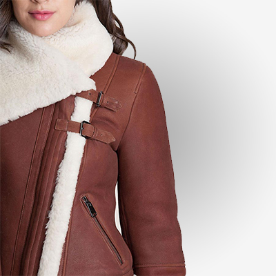 Warmth Jacket With Tightened Front Strap