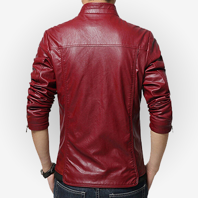 Casual Style Slim Fit Jacket for Men