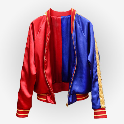 Harley Quinn Red and Blue Jacket