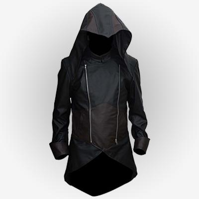 AC Unity Arno Dorian Leather Jacket