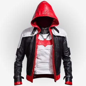 Arkham Knight Batman Game Hooded Red Jacket and Vest
