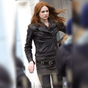 Amy Pond Jacket from Doctor Who Series for Women
