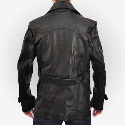 Doctor Who 9th Black Leather Jacket