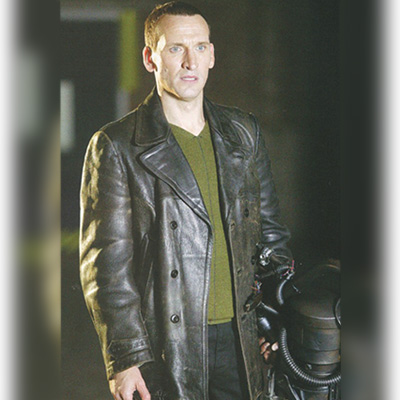 Christopher Eccleston Doctor Who Jacket for Mens
