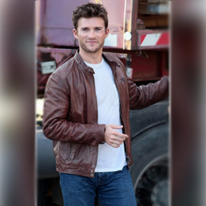 Fast 8 Leather Brown Jacket for Men