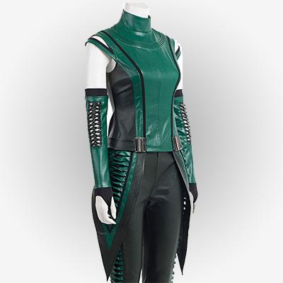 Female Mantis Green Vest outerwear