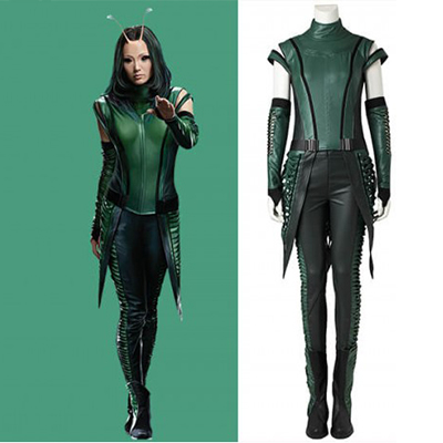 Womens Green Leather Vest from Guardians of the Galaxy vol 2