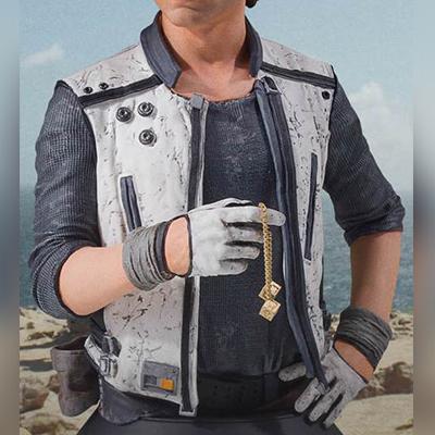 Alden Ehrenreich Star Wars Leather Vest