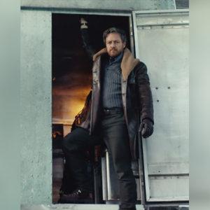 James Mcavoy Genuine Leather Coat