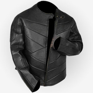 Idris Elba Brixton Black Leather Jacket