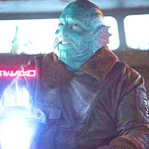 Mythrol Shearling Jacket from The Mandalorian Tv Series