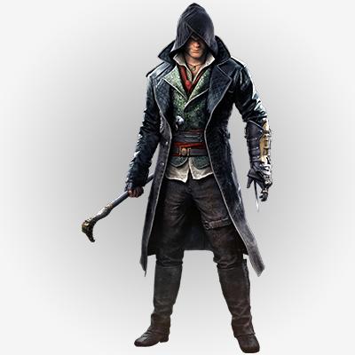 Jacob Frye Coat in Leather