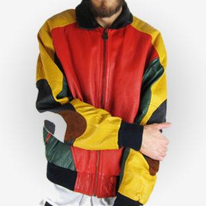 Michael Hoban 8 Ball Leather Jacket