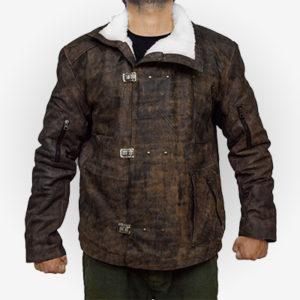 William bj Leather Jacket for Men