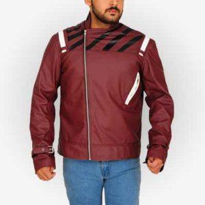 Travis Touchdown Stylish Red Jacket