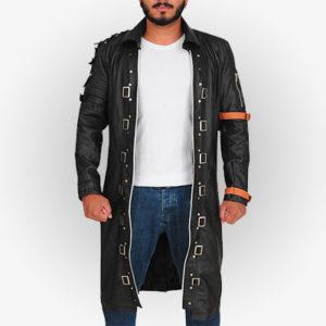 Battlegrounds Game Trench Coat for Men