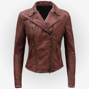 Nathalie Emmanuel Fast 8 Leather Jacket