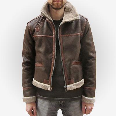Leon Scott Kennedy Leather Costume Jacket